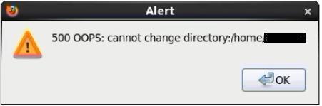 VSFTPD Error